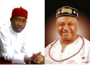 Okowa And Ogboru's Court Case Today Live In Asaba