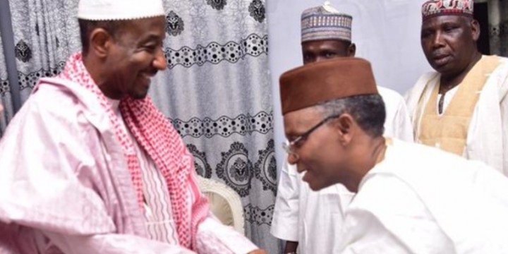 El-Rufai Meets   Dethroned Emir, Sanusi In Awe, Nasarawa (Photos)