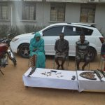 Police Arrest Female Leader Of Notorious Kidnap Gang, 3 Others In Kano (Photos)