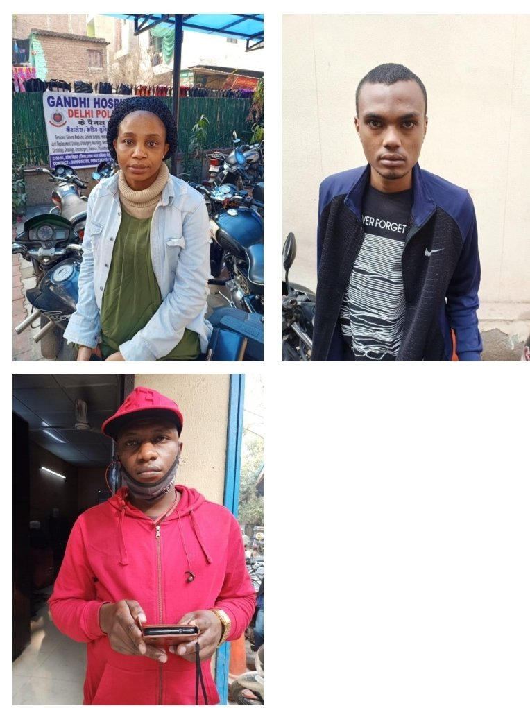 Two Nigerians & One Sudanese Deported For Illegal Stay In India (Photos)